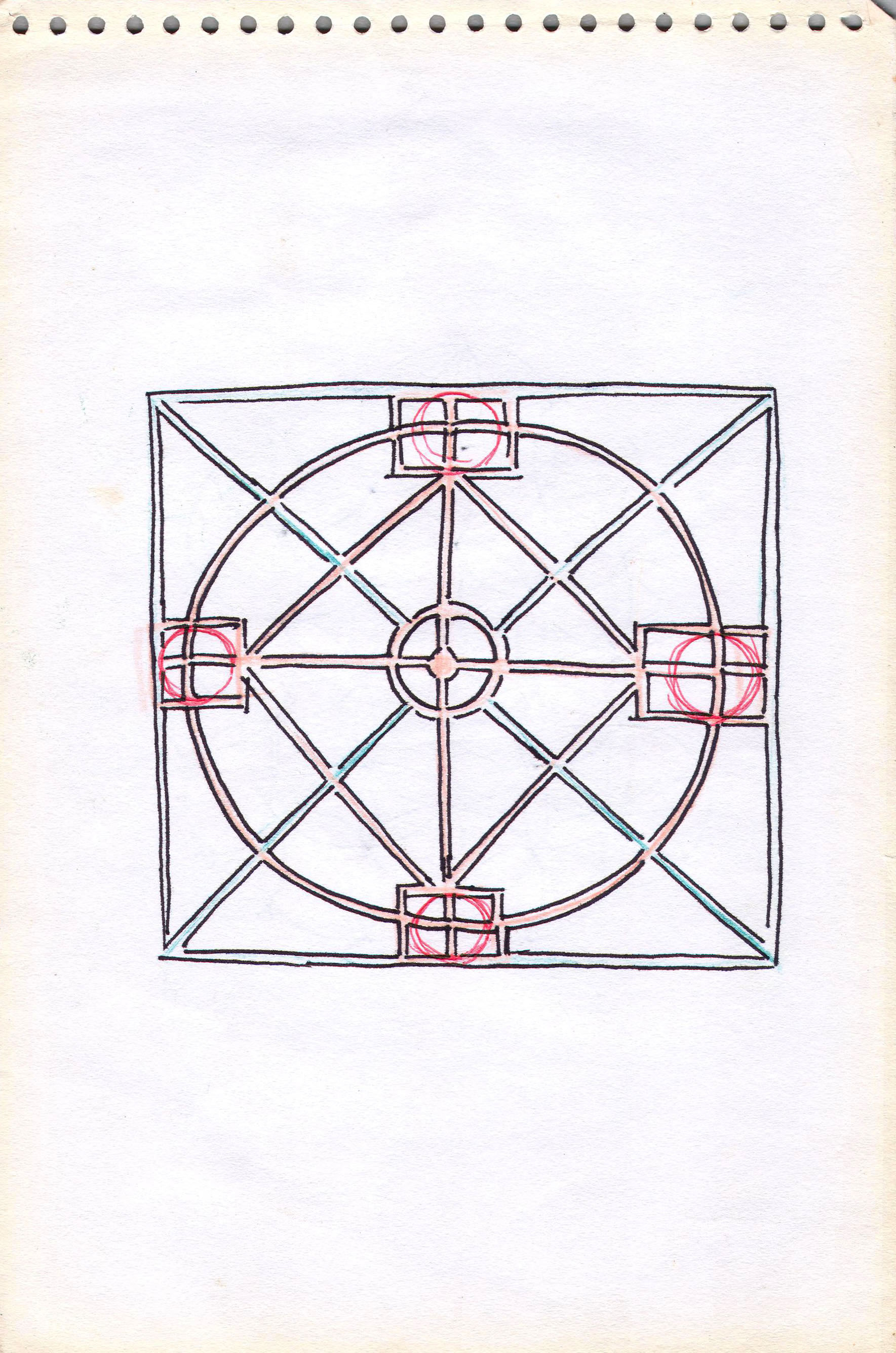 Sketches from the source by a Philippine shaman Bong Delatorre 34