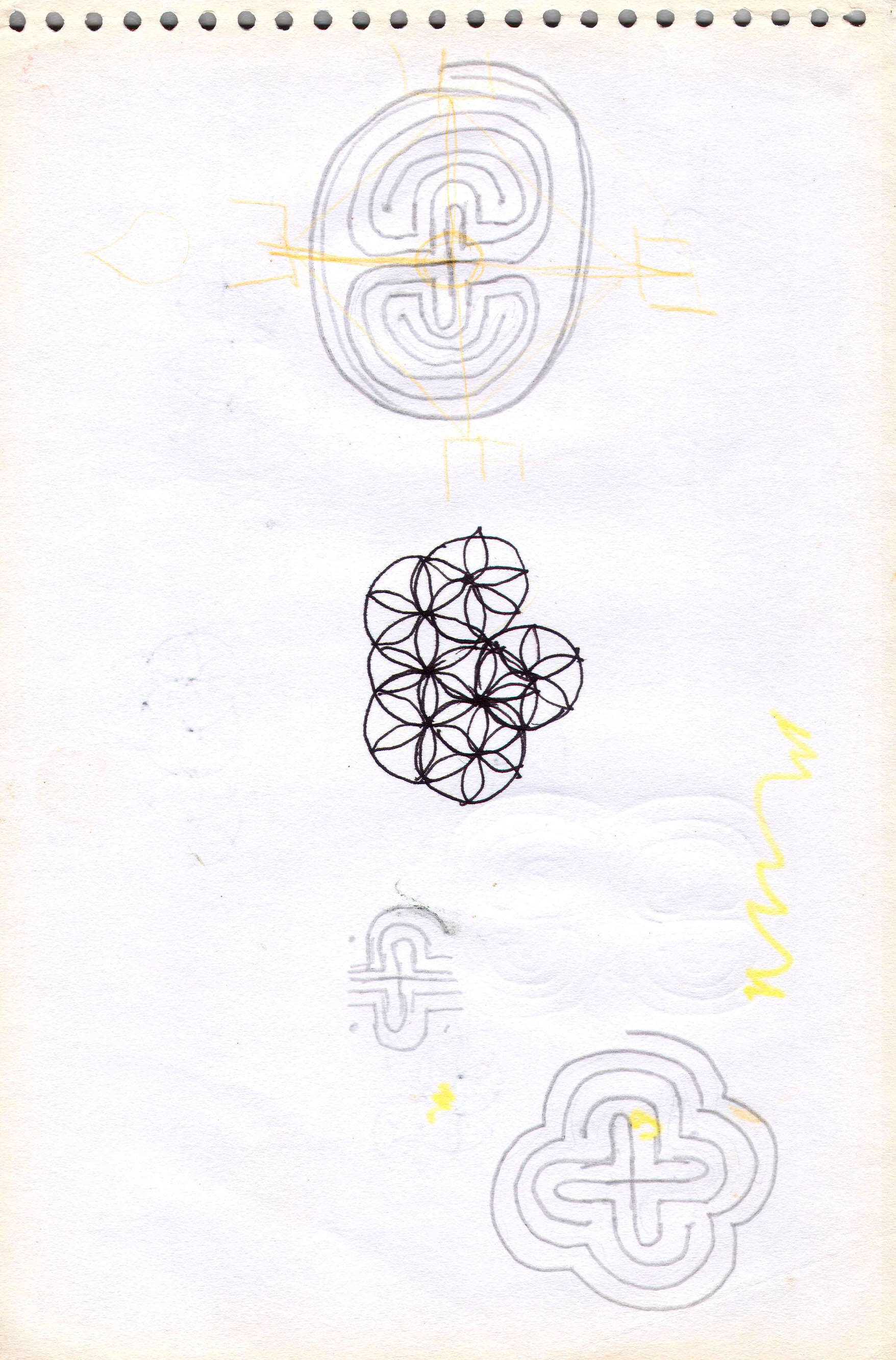 Sketches from the source by a Philippine shaman Bong Delatorre 36