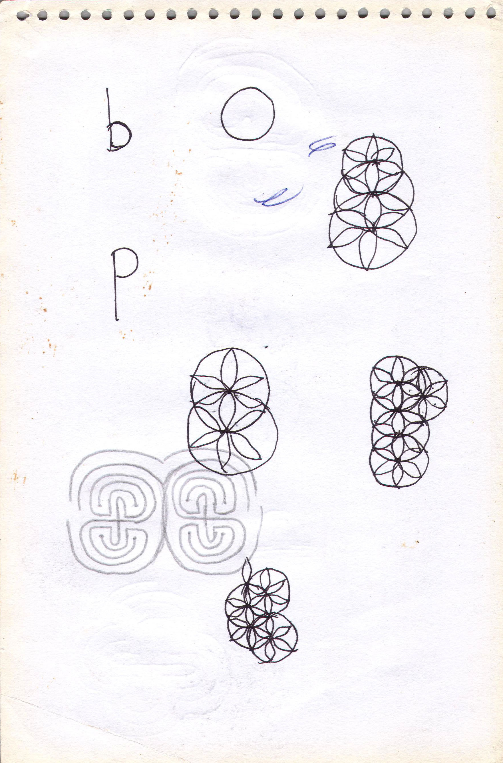 Sketches from the source by a Philippine shaman Bong Delatorre 37