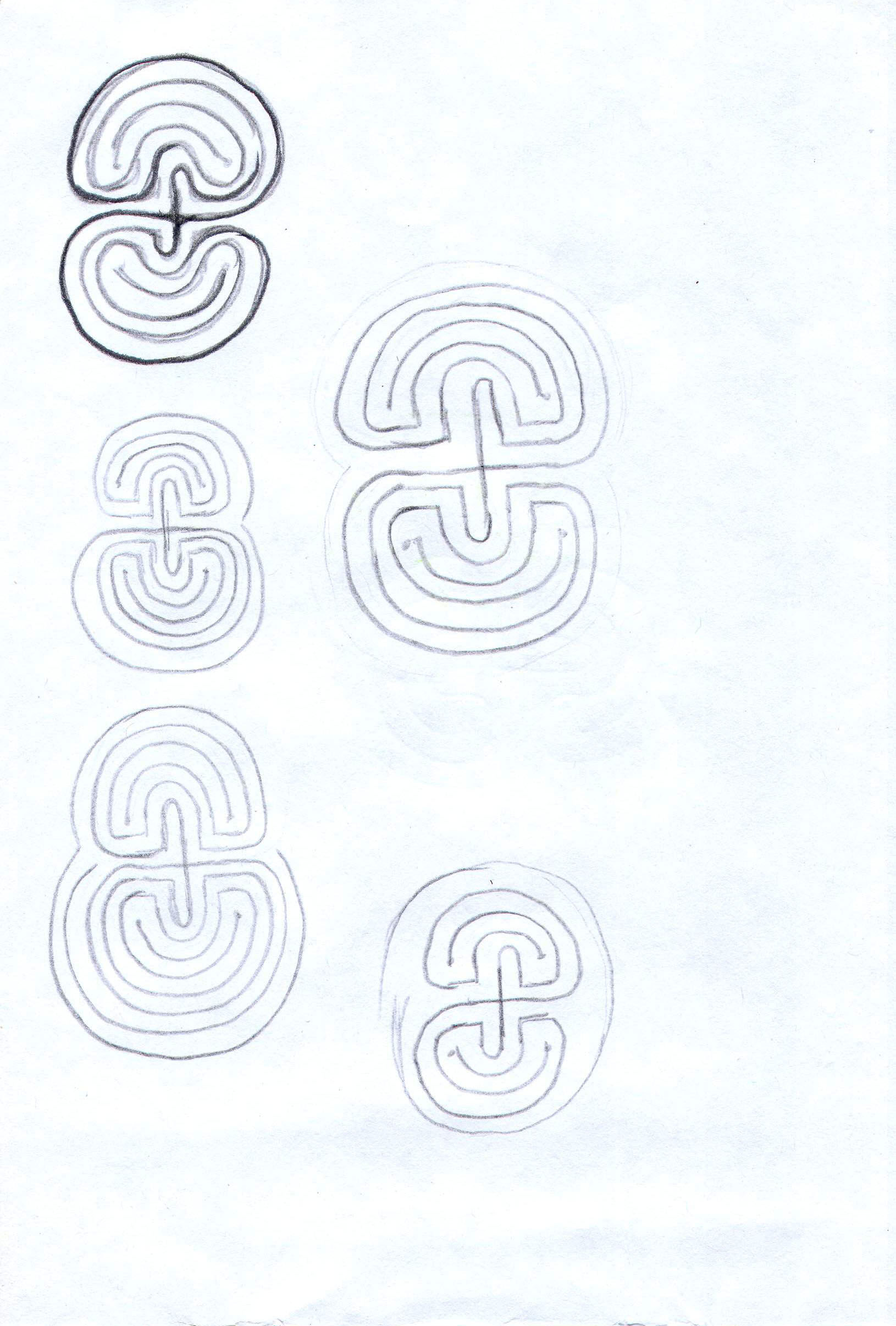 Sketches from the source by a Philippine shaman Bong Delatorre 45