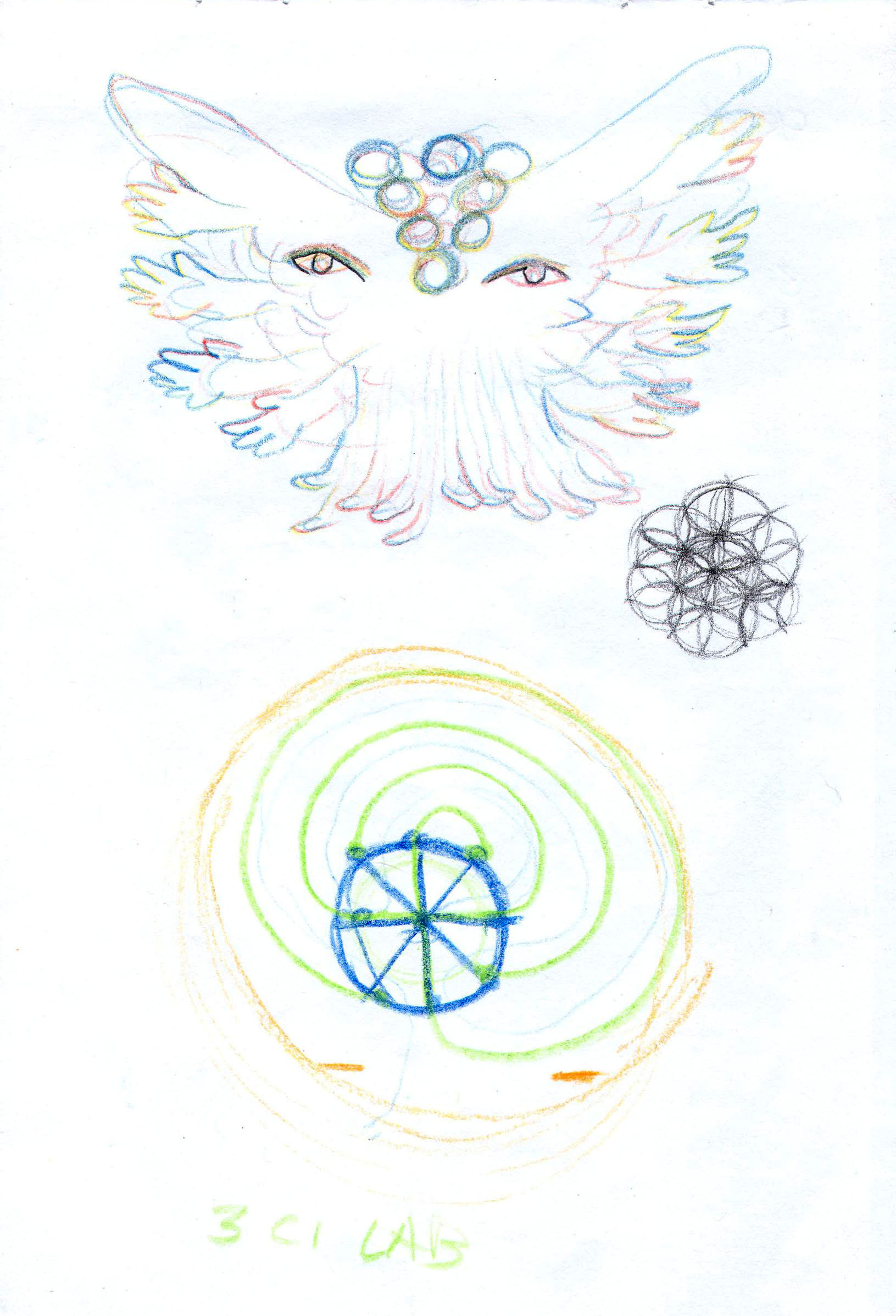 Sketches from the source by a Philippine shaman Bong Delatorre 47