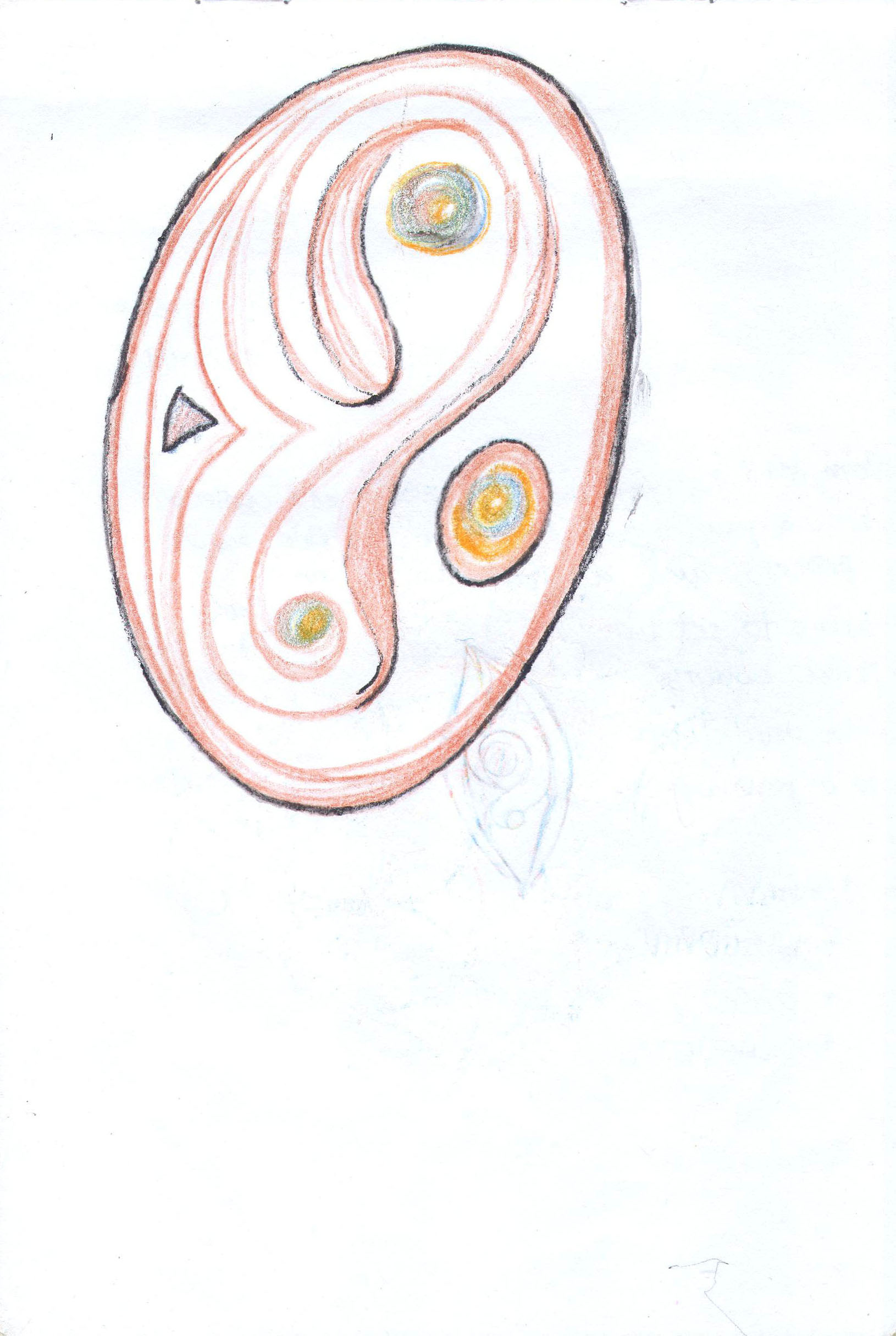 Sketches from the source by a Philippine shaman Bong Delatorre 50