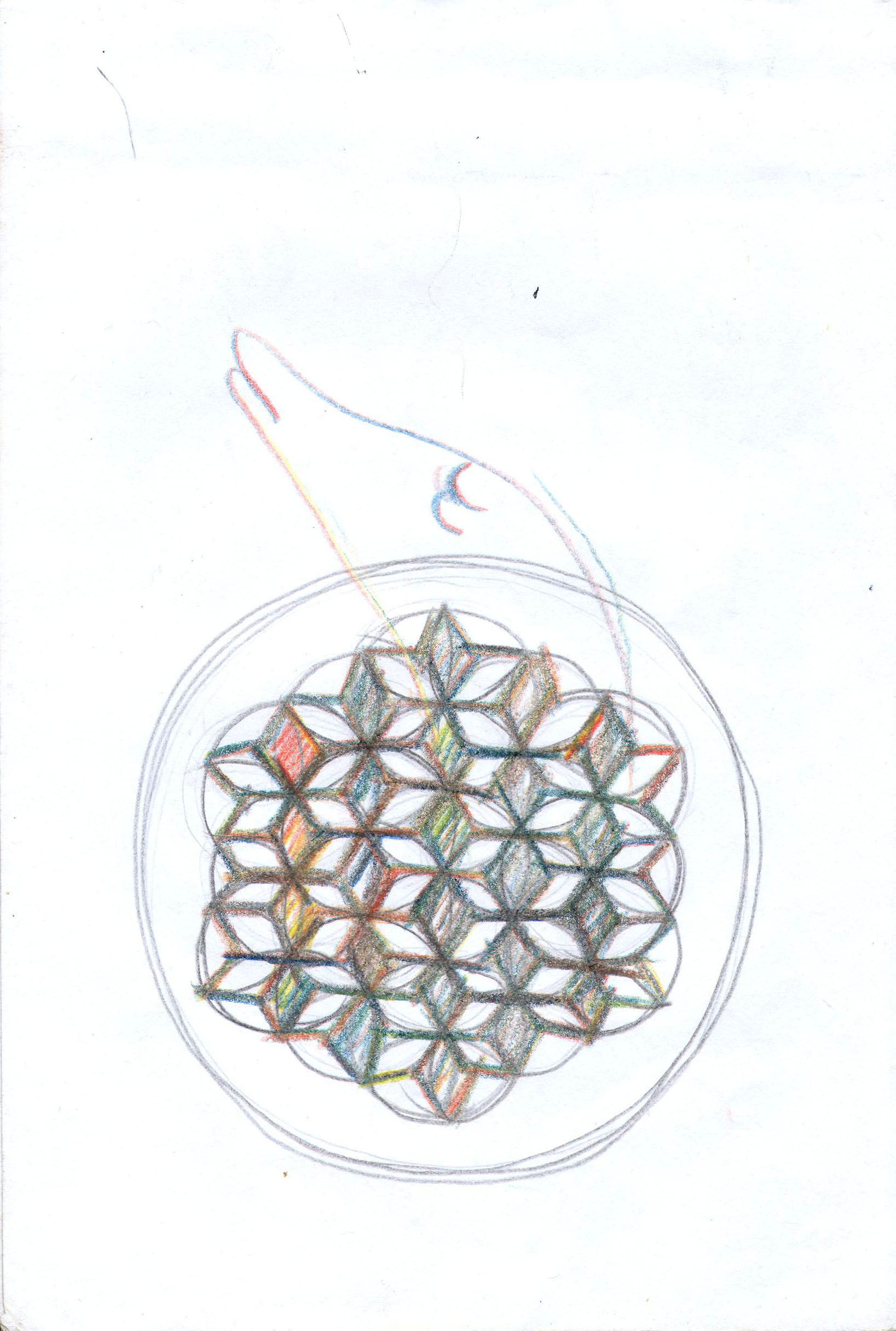 Sketches from the source by a Philippine shaman Bong Delatorre 53