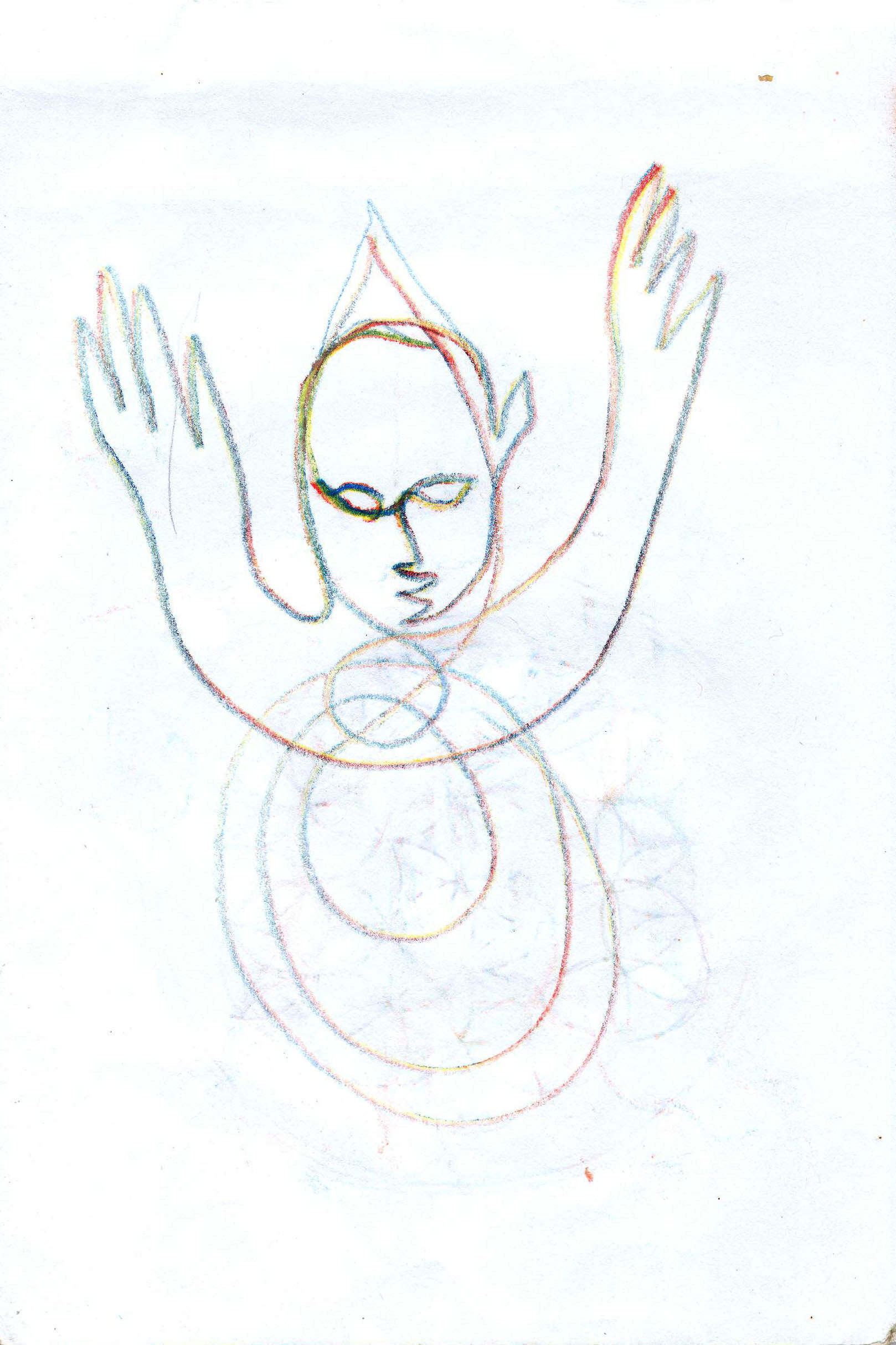 Sketches from the source by a Philippine shaman Bong Delatorre 54
