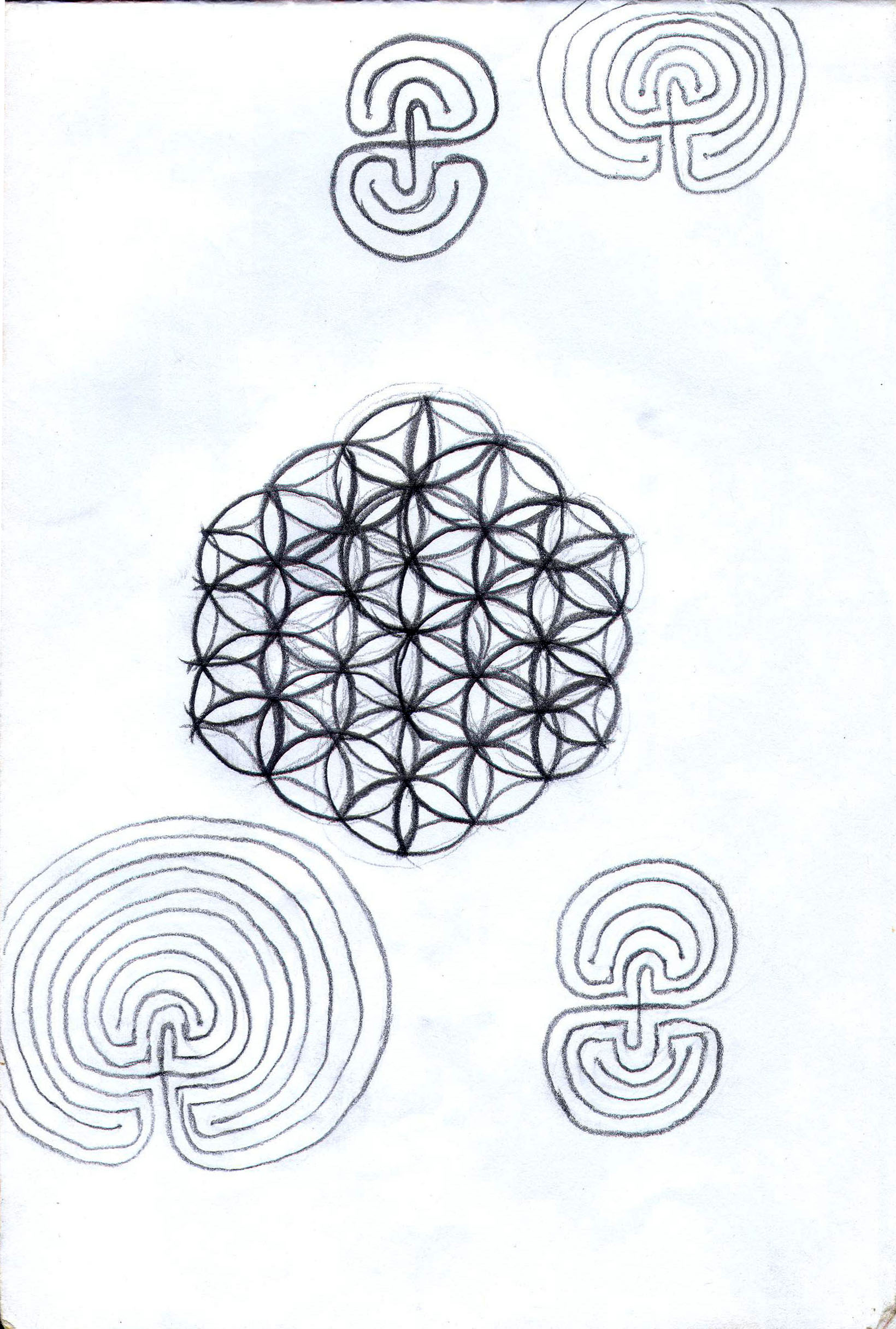 Sketches from the source by a Philippine shaman Bong Delatorre 59