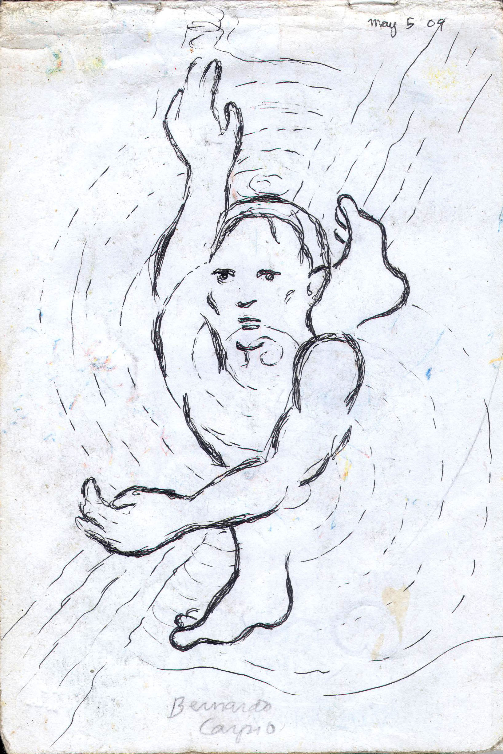 Sketches from the source by a Philippine shaman Bong Delatorre 61