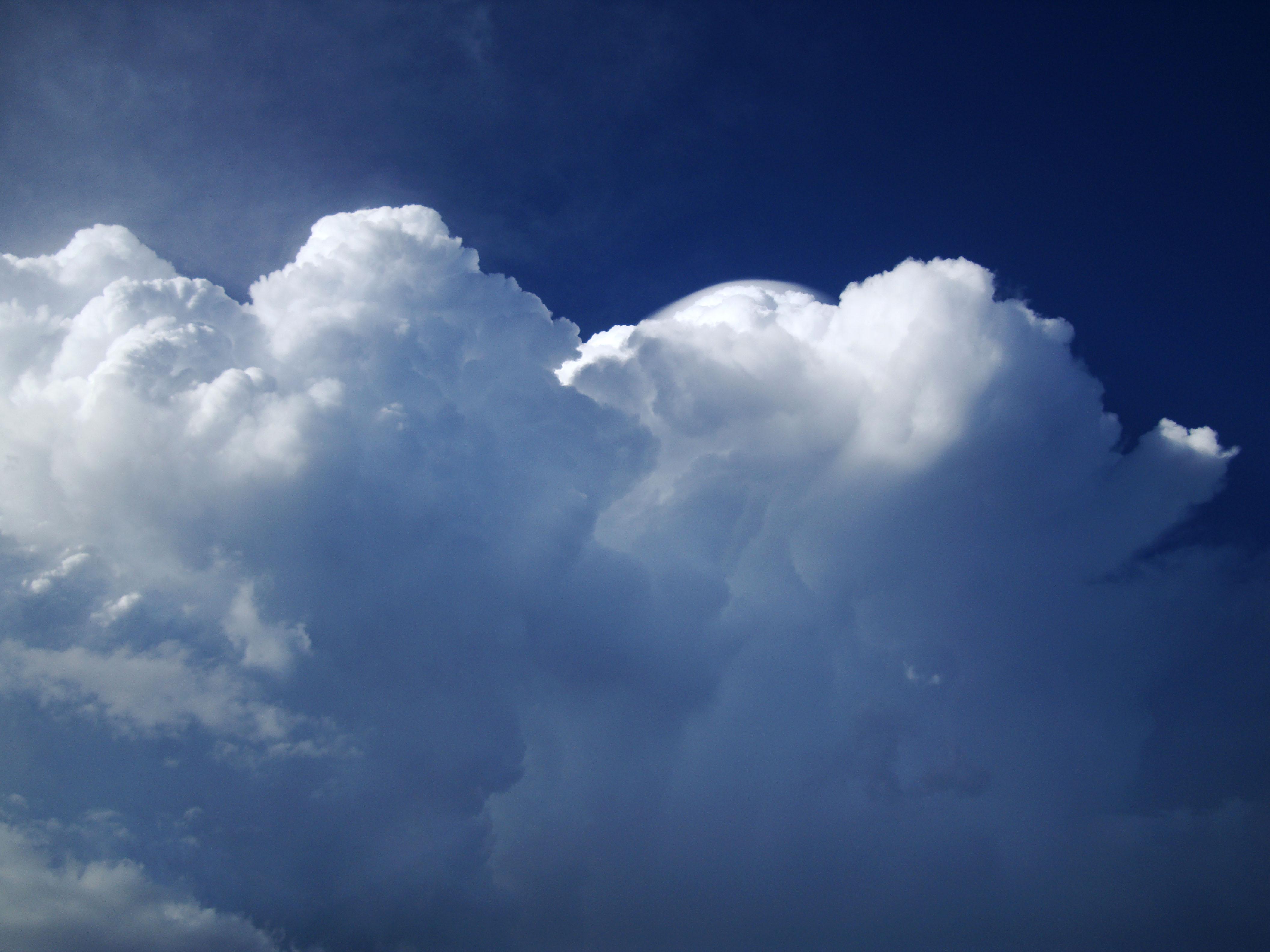 Cumulonimbus Clouds Formations Sky Storms Weather Phenomena 04