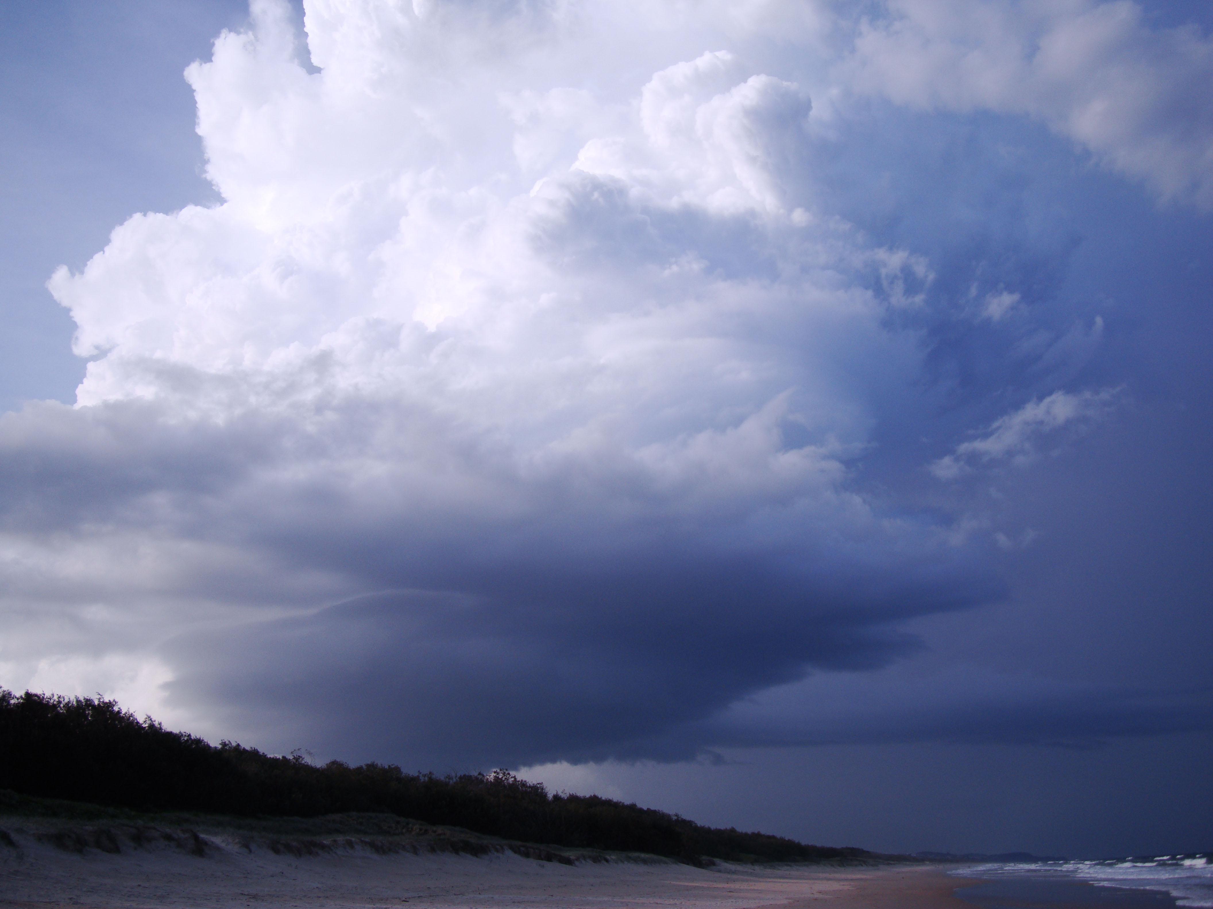 Cumulonimbus Clouds Formations Sky Storms Weather Phenomena 11