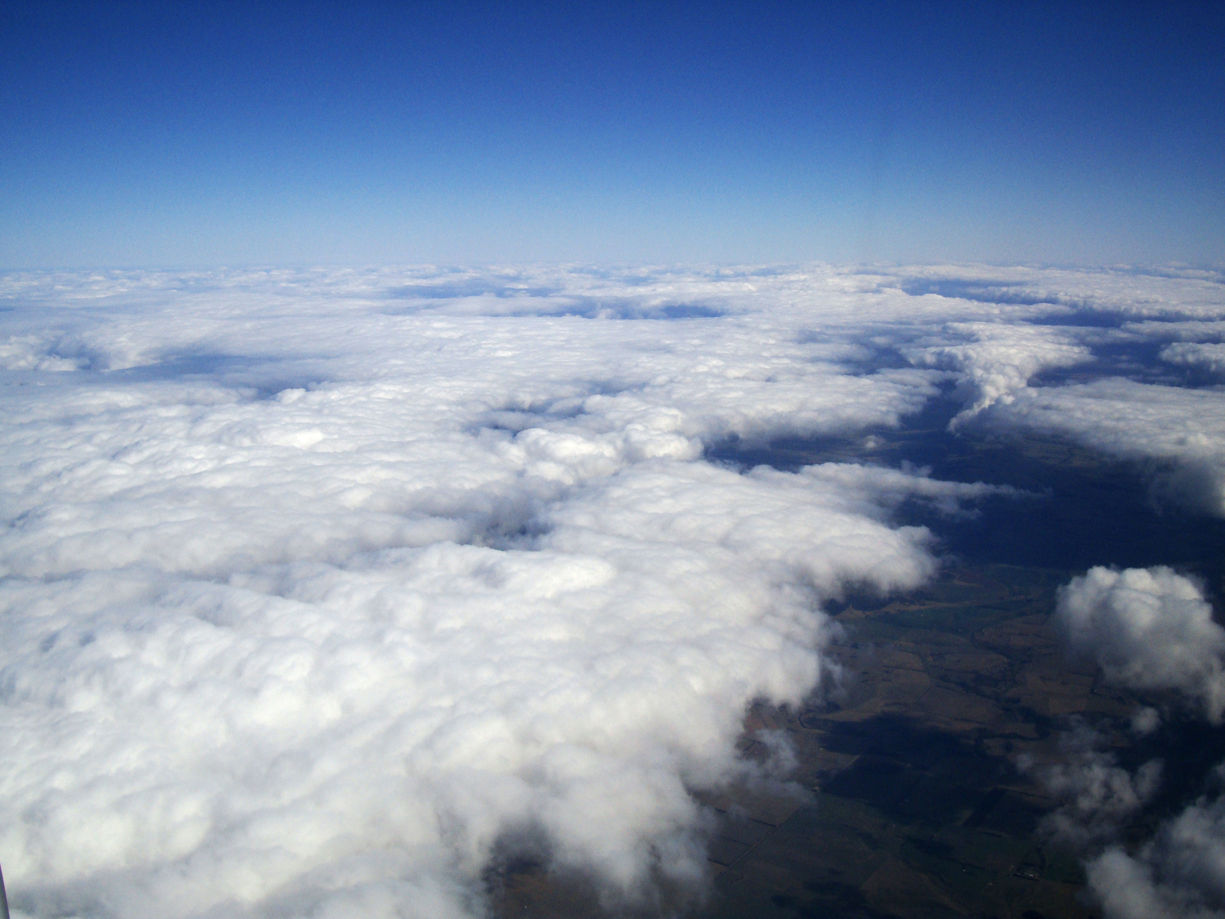 Textures Clouds Formations Sky Storms Weather Phenomena Aerial Views 04