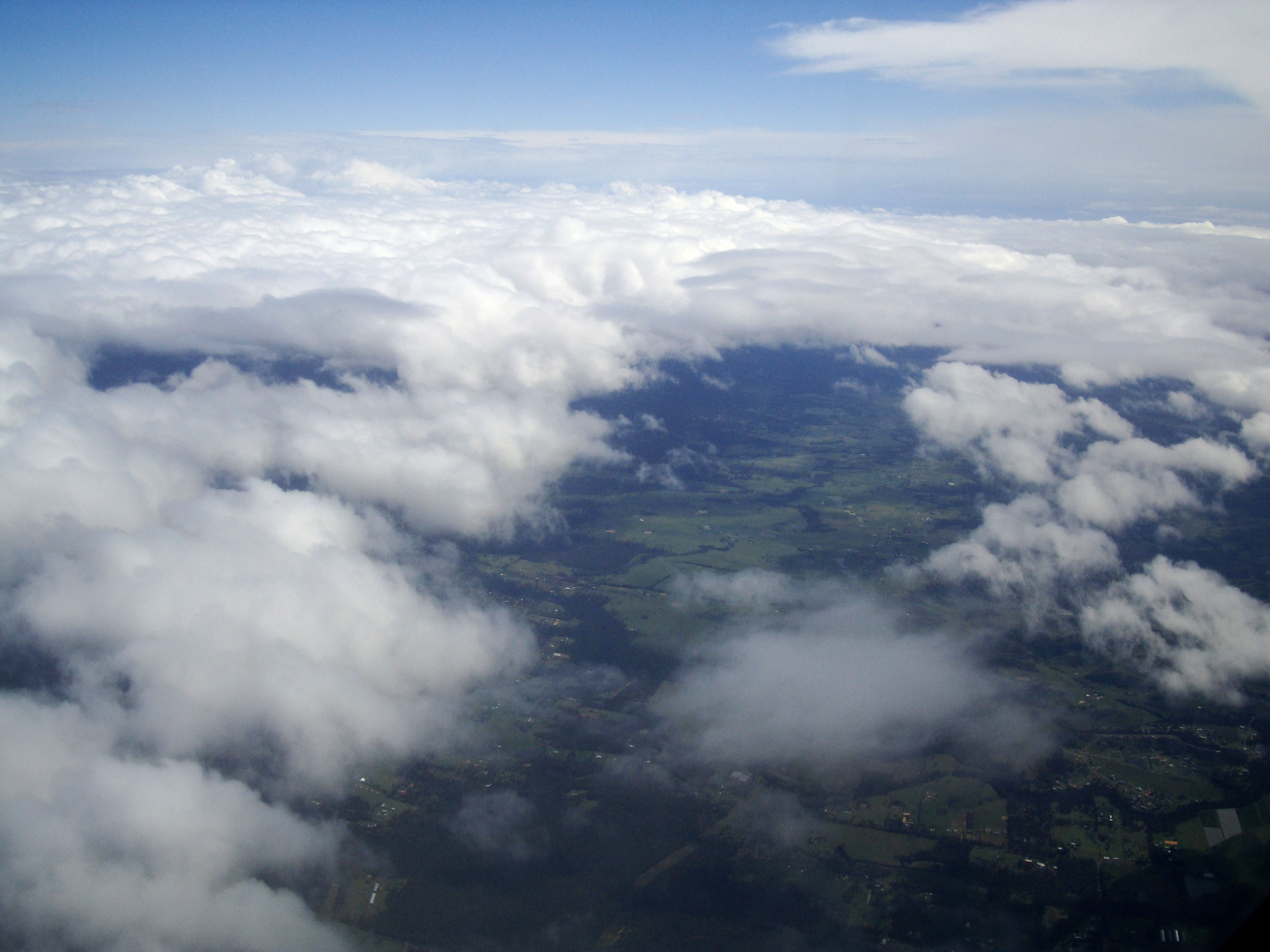 Textures Clouds Formations Sky Storms Weather Phenomena Aerial Views 13