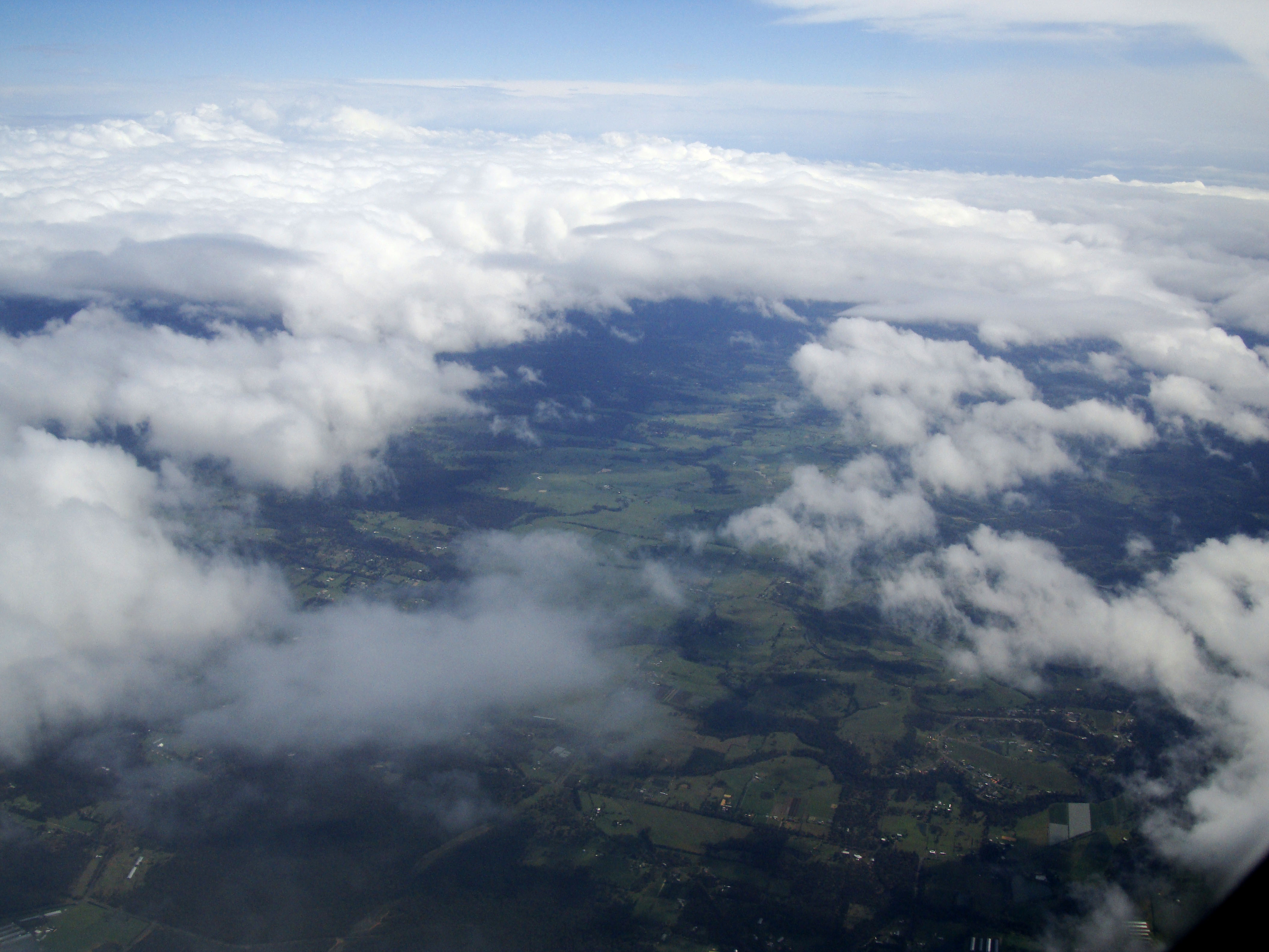 Textures Clouds Formations Sky Storms Weather Phenomena Aerial Views 14
