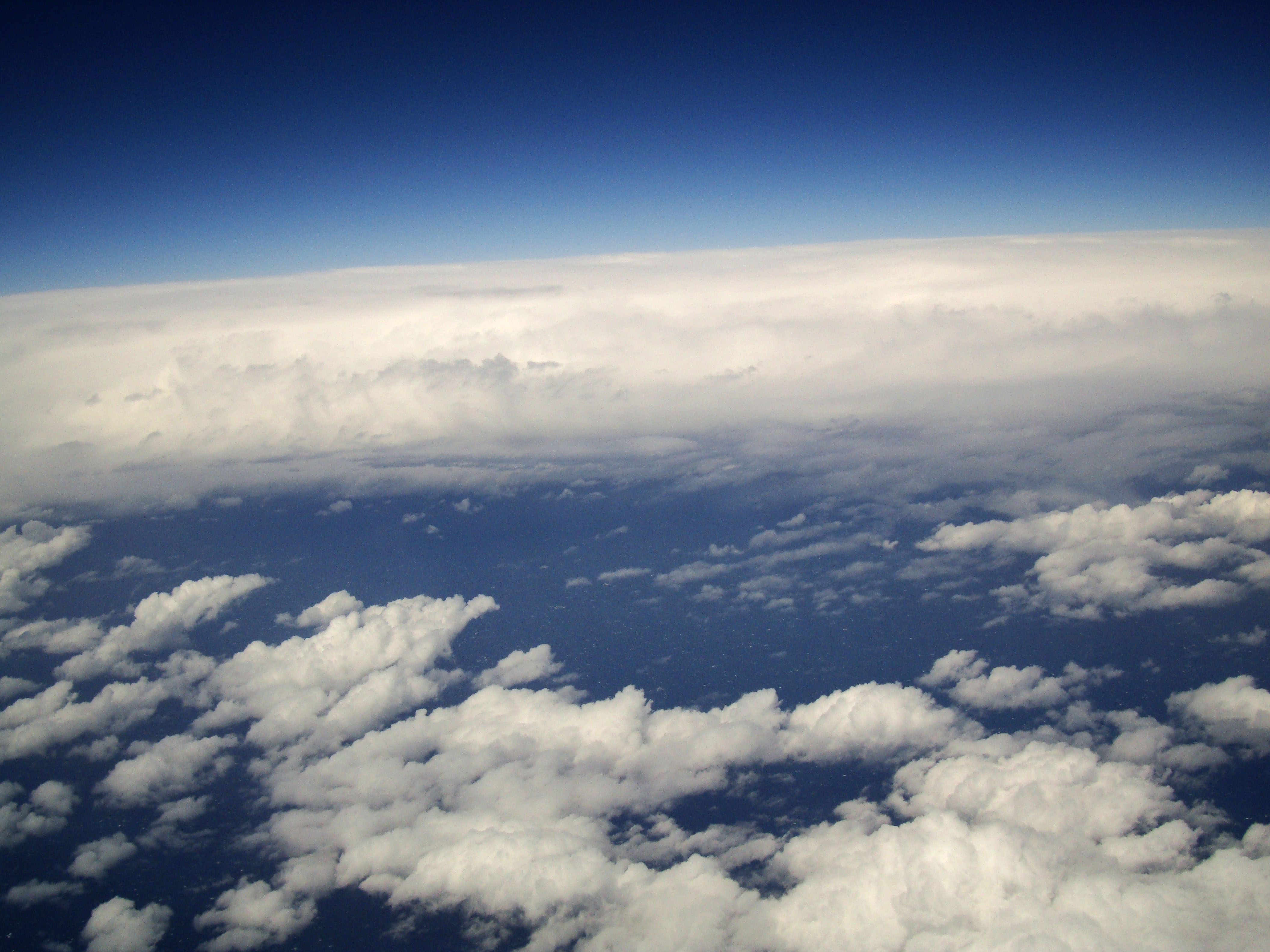 Textures Clouds Formations Sky Storms Weather Phenomena Aerial Views 22