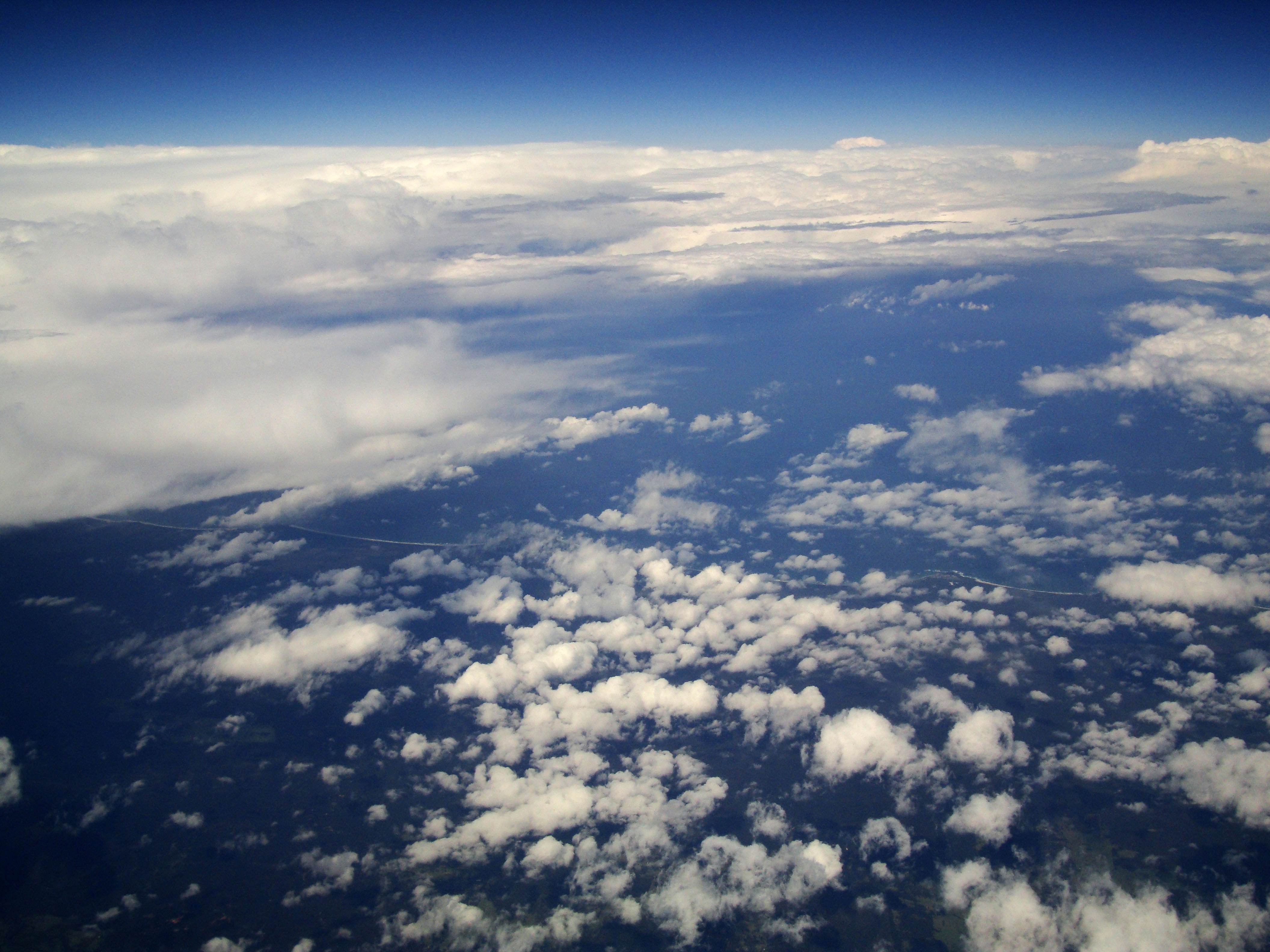 Textures Clouds Formations Sky Storms Weather Phenomena Aerial Views 26