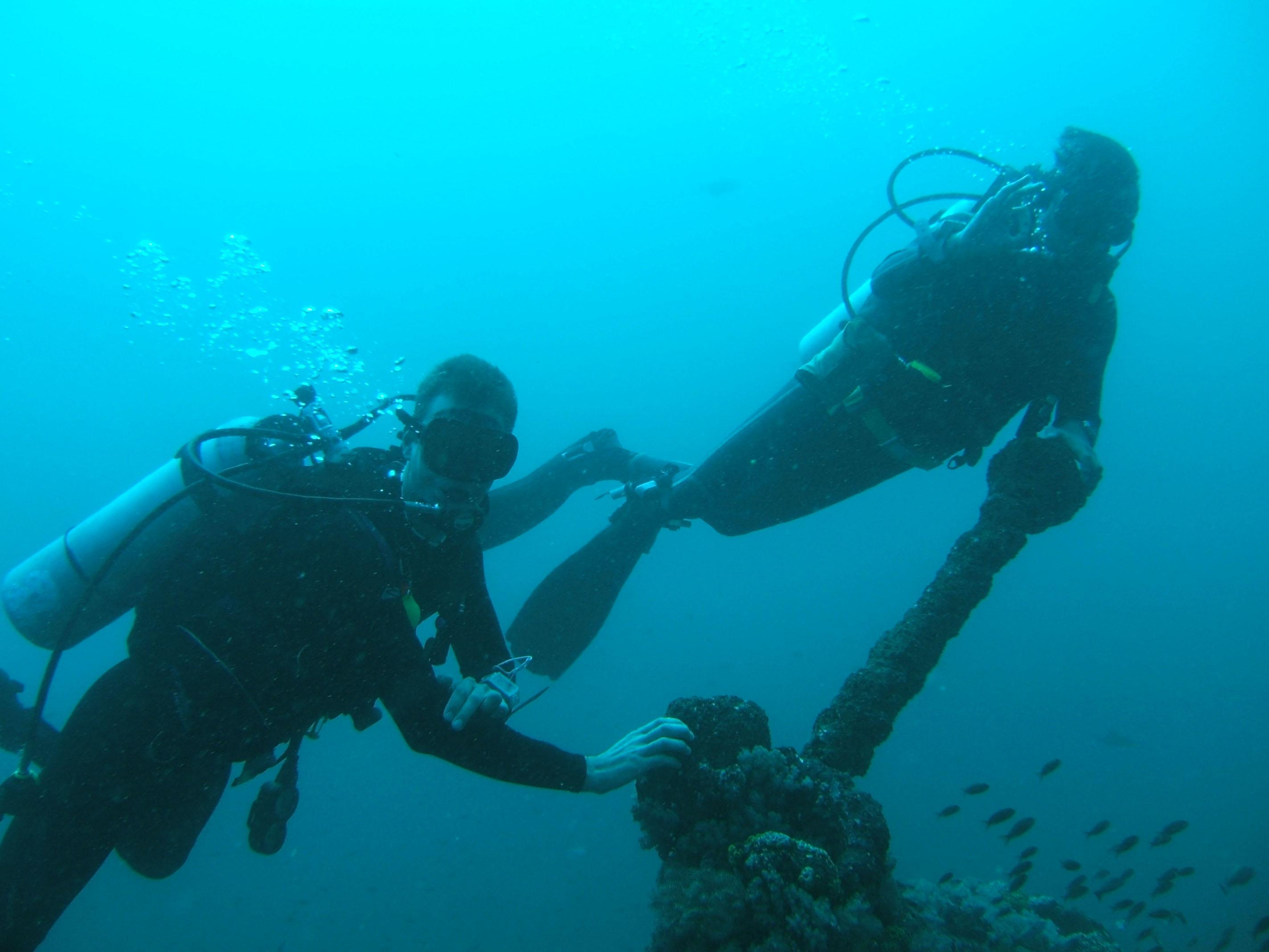 Dive 17 Philippines Mindoro Sabang Fish Bowl Oct 2005 29