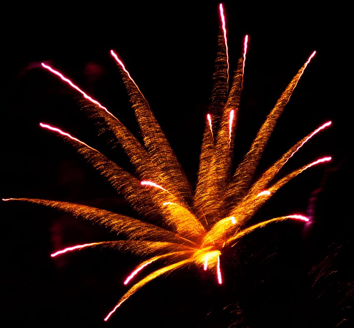New Year 2011 Fireworks Makati Philippines 053