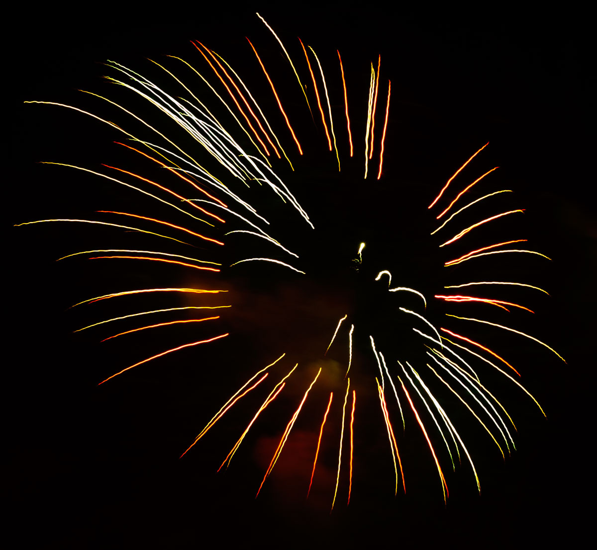 New Year 2011 Fireworks Makati Philippines 093