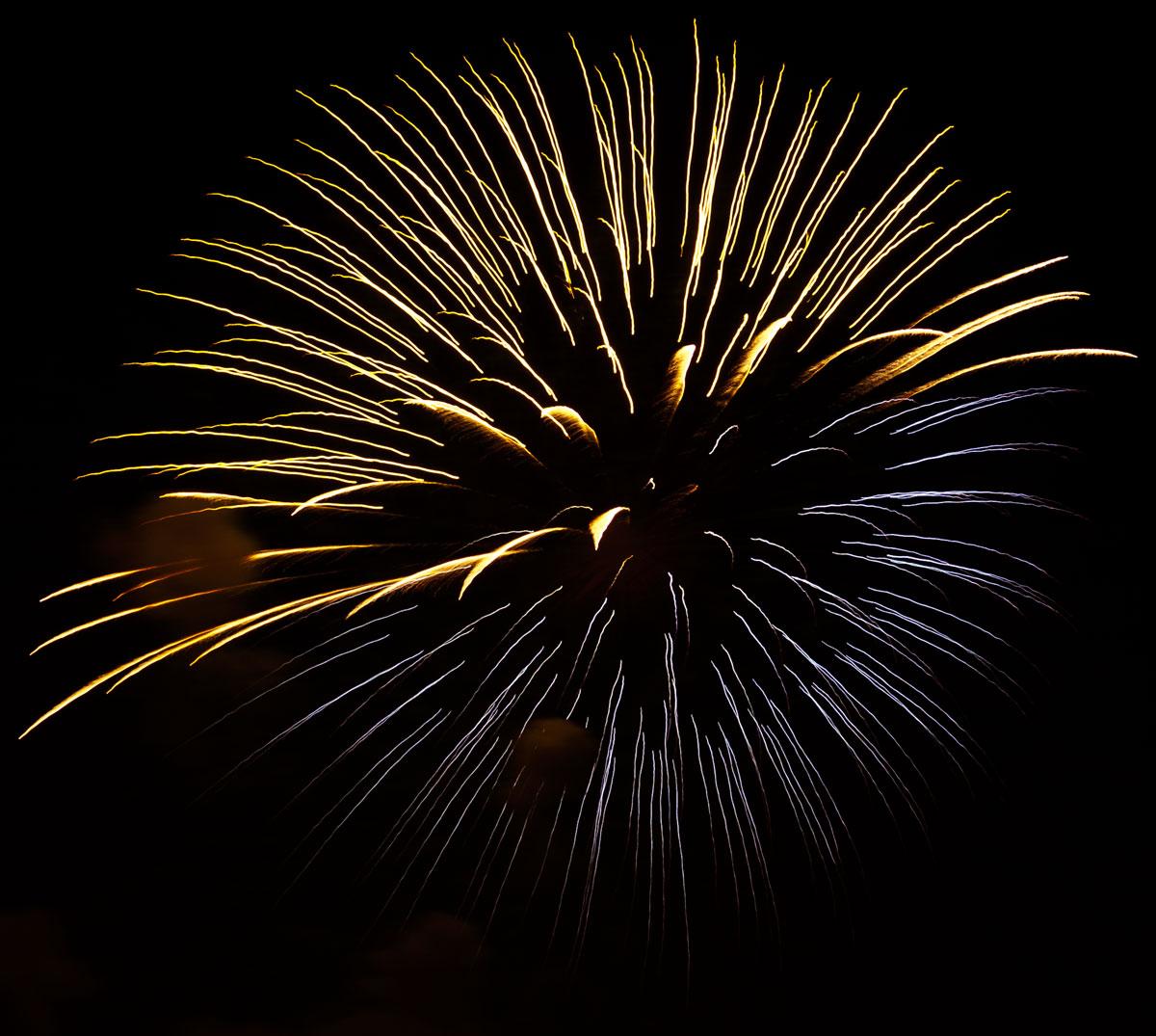 New Year 2011 Fireworks Makati Philippines 095