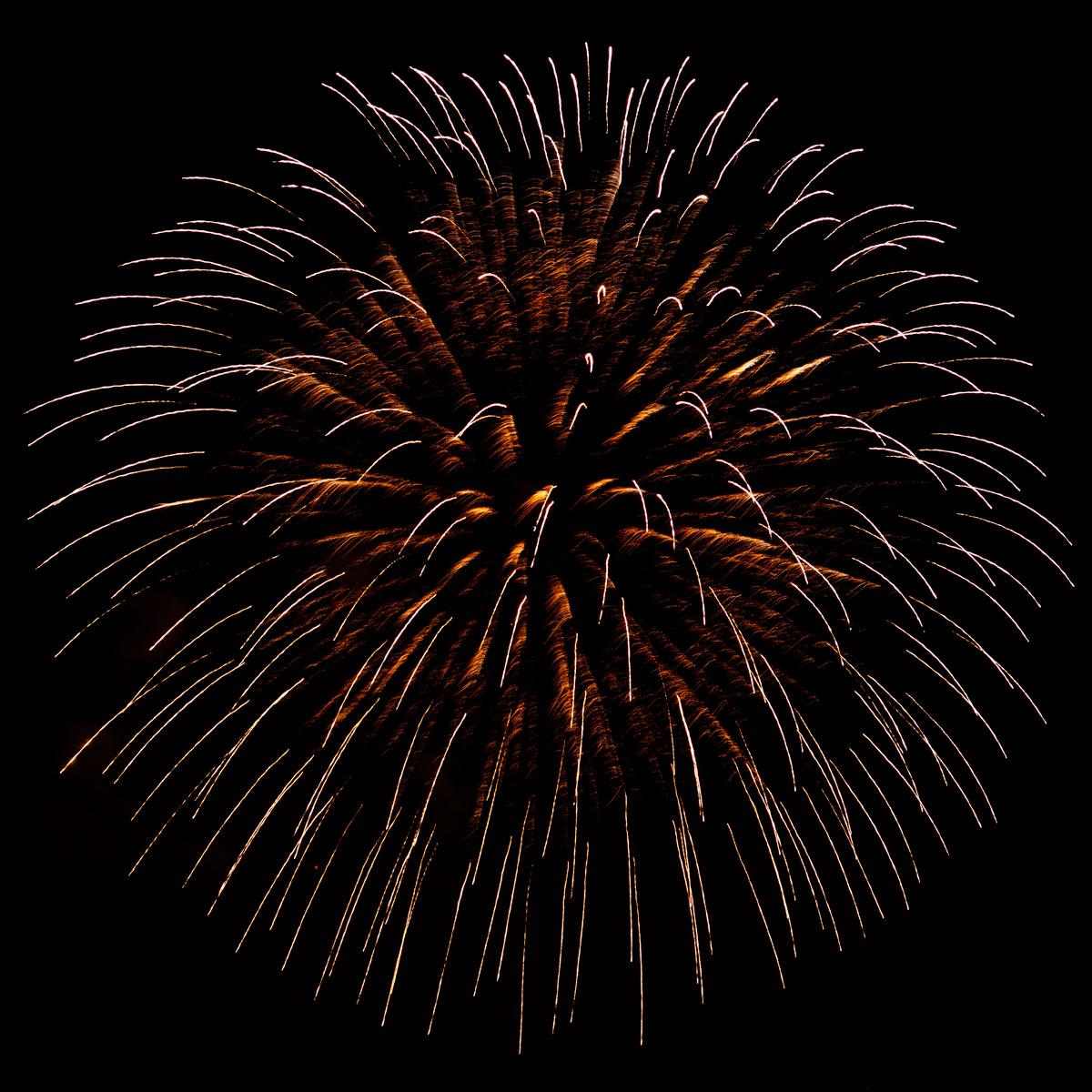 New Year 2011 Fireworks Makati Philippines 097