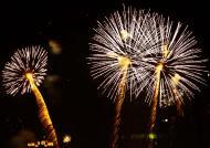 Asisbiz New Year 2011 Fireworks Makati Philippines 009