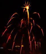 Asisbiz New Year 2011 Fireworks Makati Philippines 012