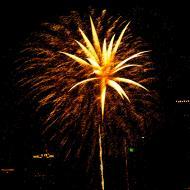 Asisbiz New Year 2011 Fireworks Makati Philippines 015