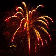 Asisbiz New Year 2011 Fireworks Makati Philippines 016