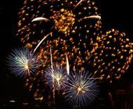 Asisbiz New Year 2011 Fireworks Makati Philippines 028