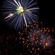 Asisbiz New Year 2011 Fireworks Makati Philippines 031