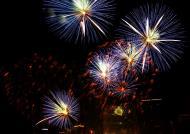 Asisbiz New Year 2011 Fireworks Makati Philippines 034