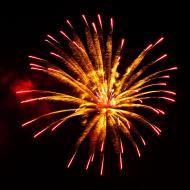 Asisbiz New Year 2011 Fireworks Makati Philippines 046