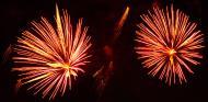 Asisbiz New Year 2011 Fireworks Makati Philippines 049