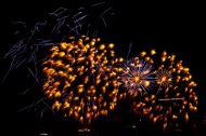 Asisbiz New Year 2011 Fireworks Makati Philippines 070