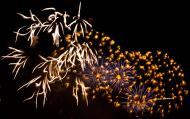 Asisbiz New Year 2011 Fireworks Makati Philippines 071