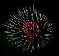 Asisbiz New Year 2011 Fireworks Makati Philippines 079