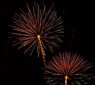 Asisbiz New Year 2011 Fireworks Makati Philippines 088