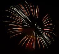 Asisbiz New Year 2011 Fireworks Makati Philippines 093
