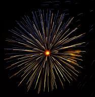 Asisbiz New Year 2011 Fireworks Makati Philippines 094