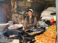 Asisbiz local fried food Kashmir Srinagar India 01