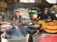 Asisbiz local fried food Kashmir Srinagar India 02