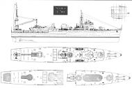 Asisbiz 0 IJN Japanese seaplane carrier Akitushima scale drawing 0B