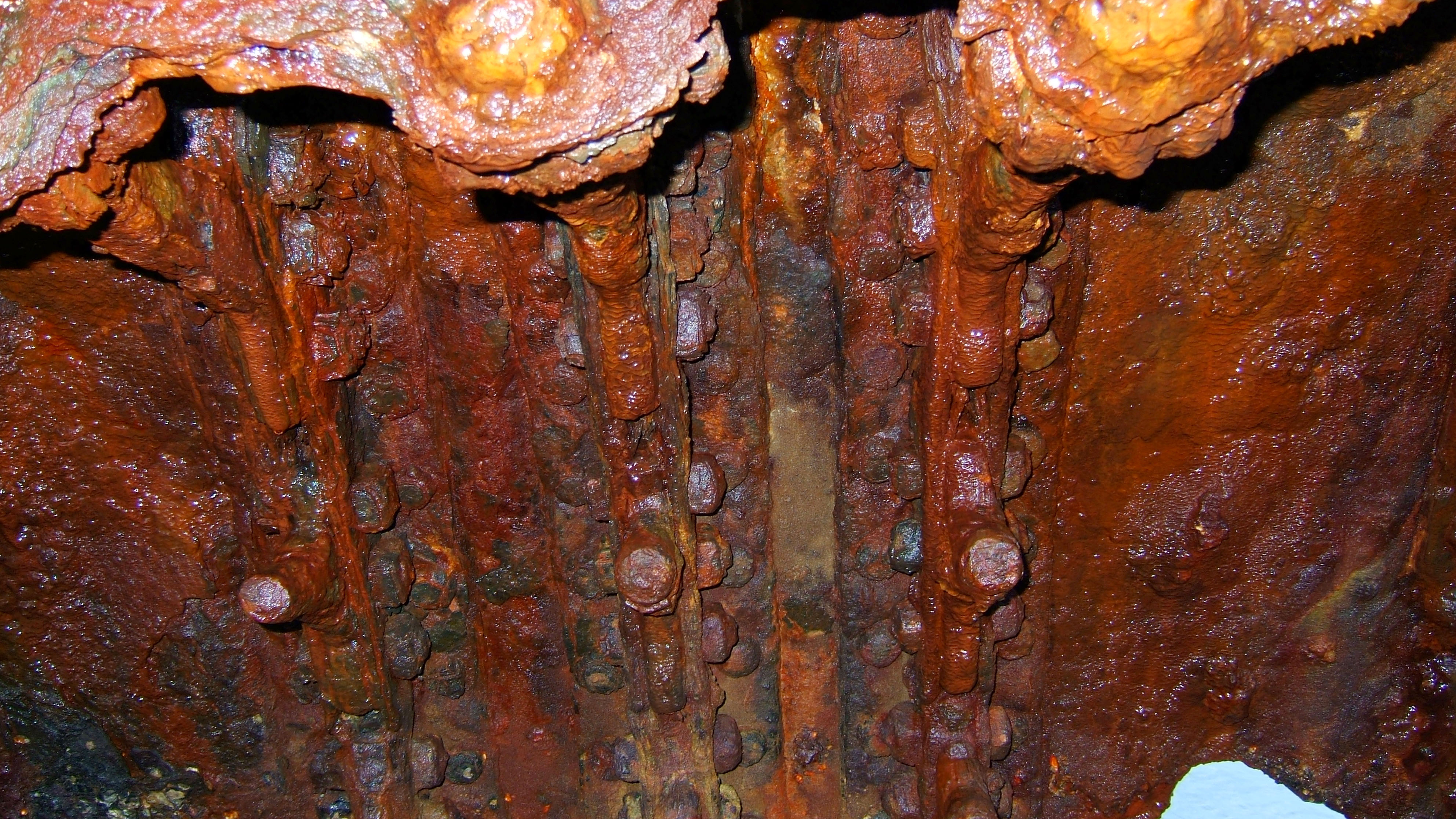Textures Steel Rusted Metal Sheeting Machinary 12