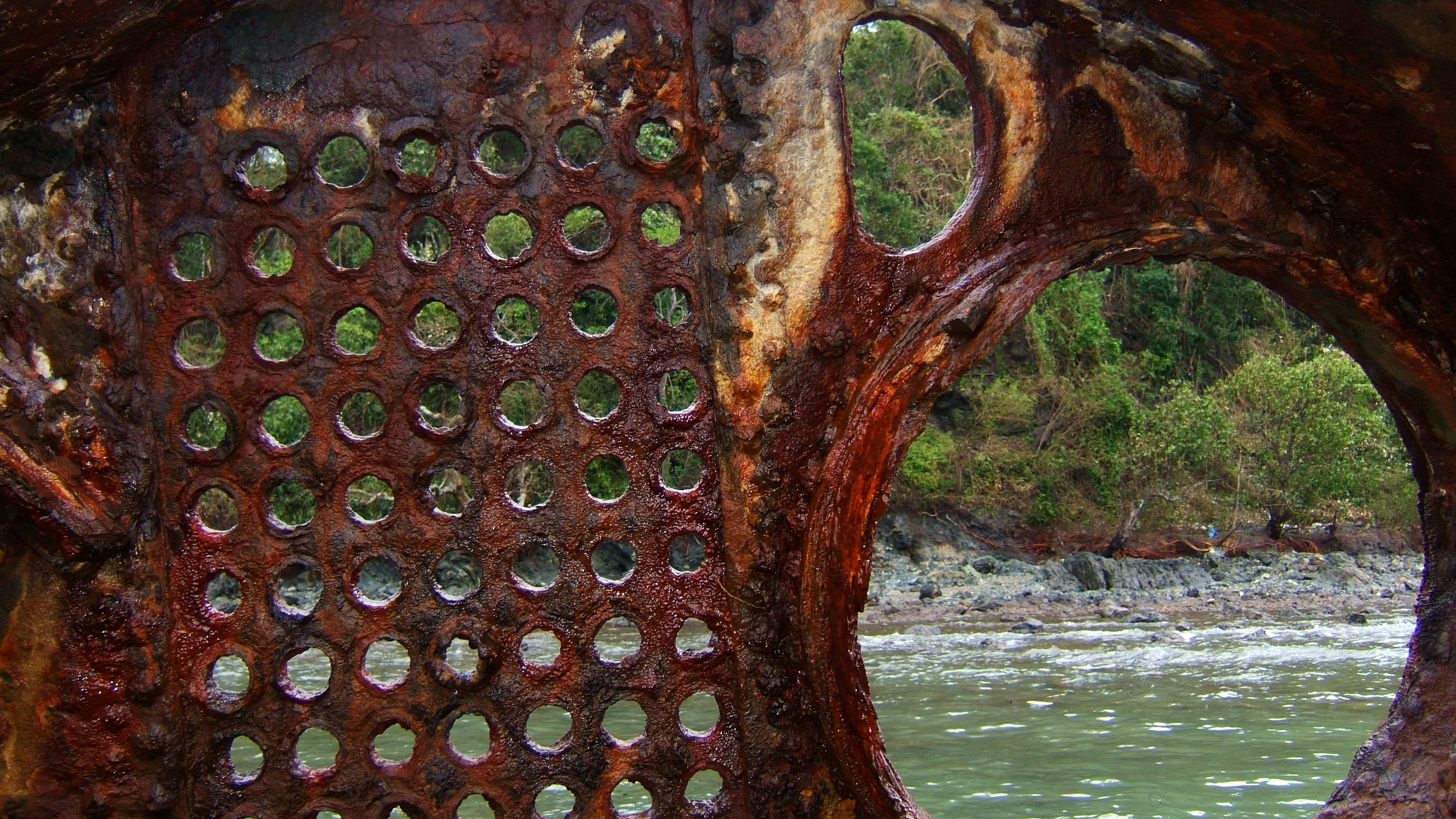 Textures Steel Rusted Metal Sheeting Machinary 13
