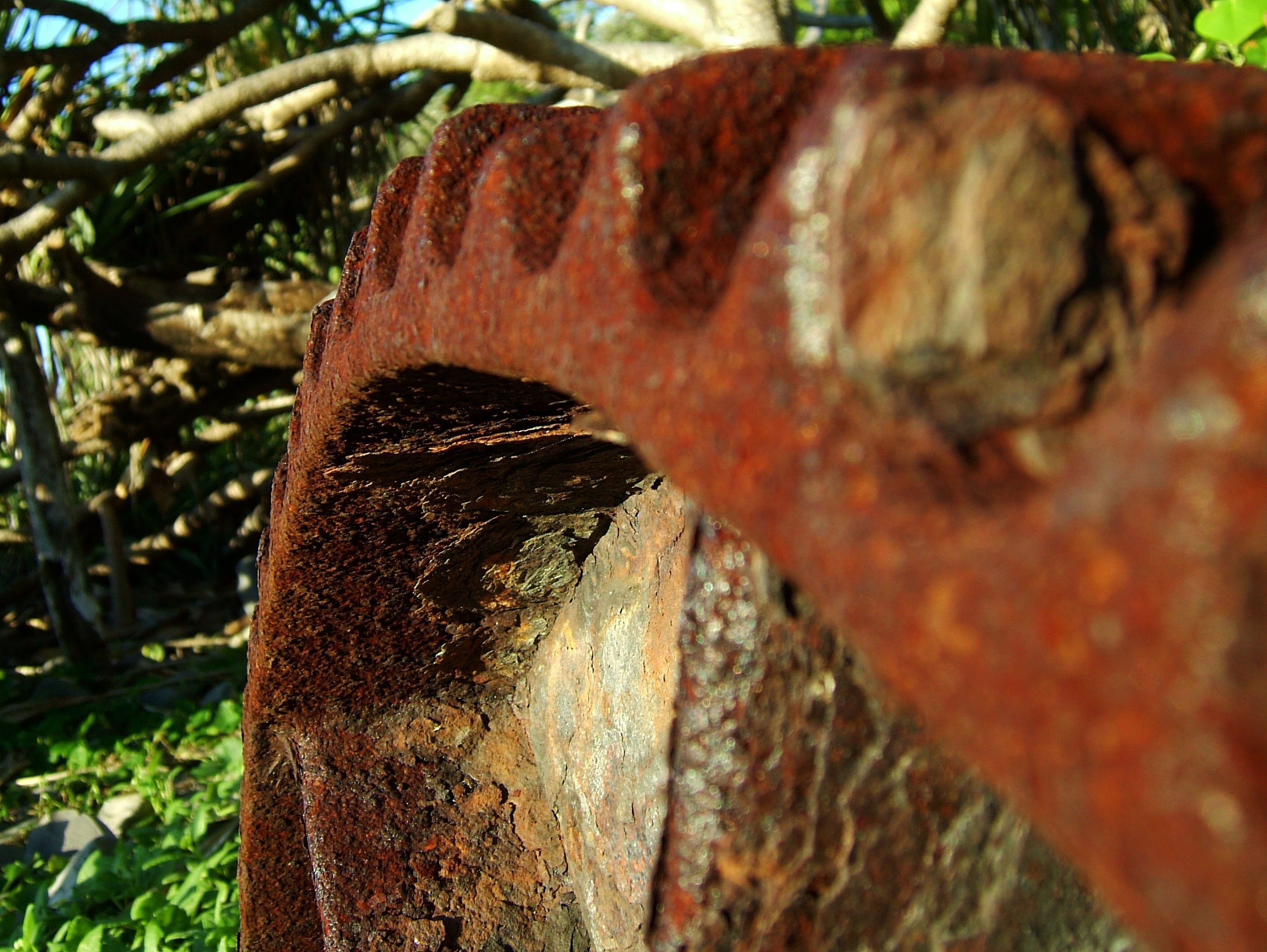 Textures Steel Rusted Metal Sheeting Machinary 27