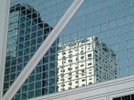 Asisbiz Textures Building window reflections Hong Kong 02