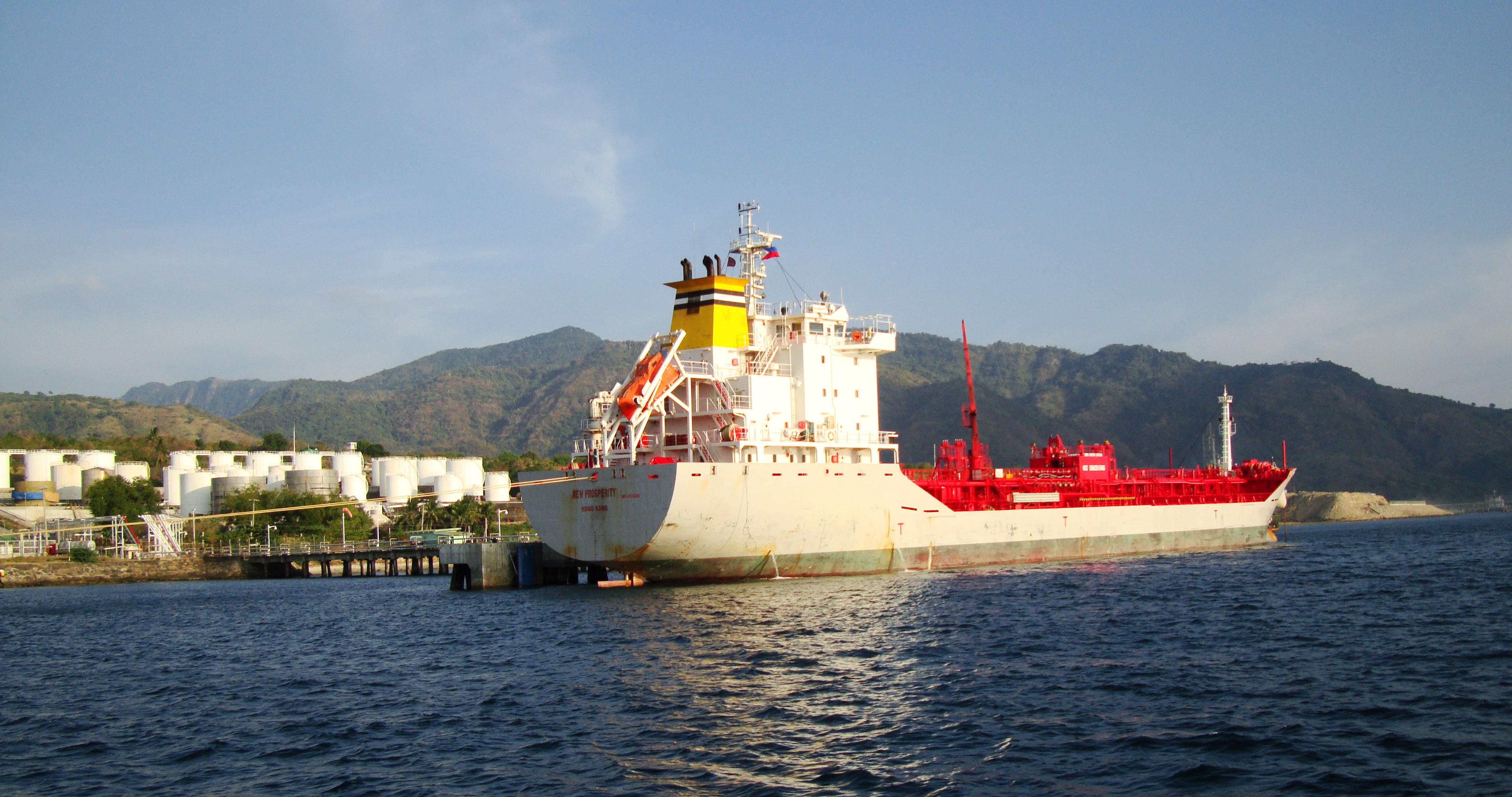 Hong Kong Merchant Vessel MV New Prosperity Batangus Bay Philippines 03