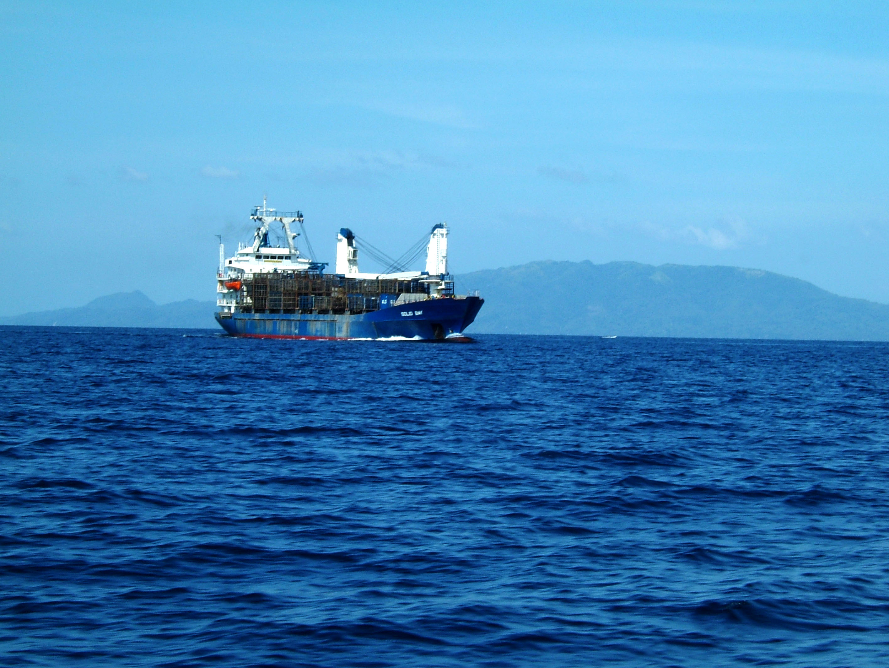 MS Solid Bay via Verde Island passage 01