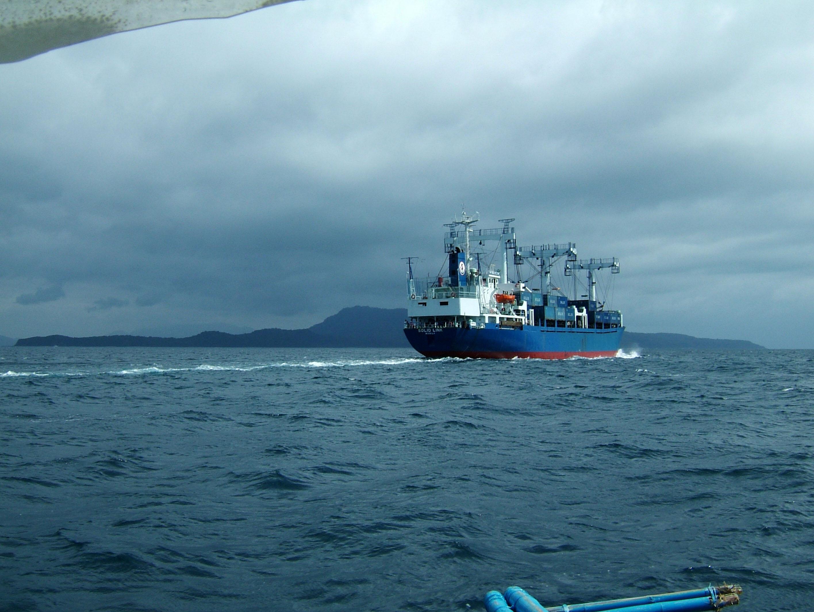 MS Solid Link via Verde Island passage 04