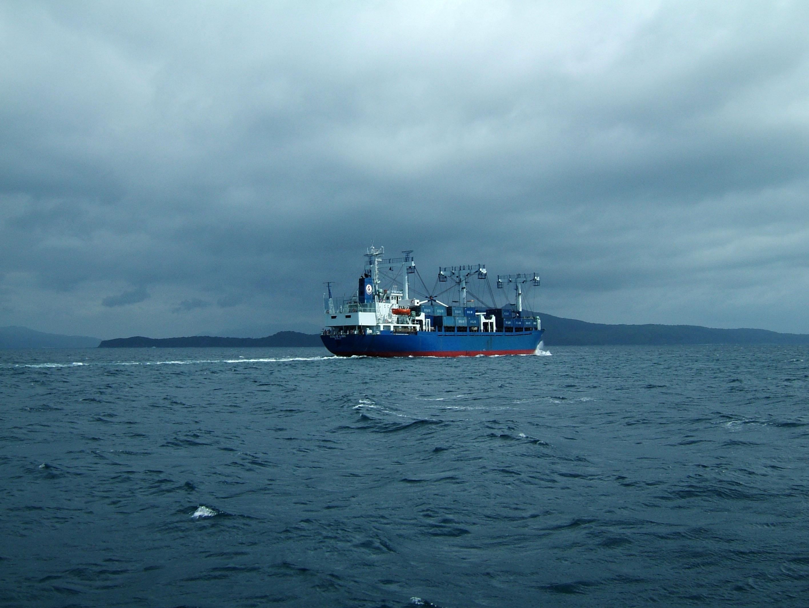 MS Solid Link via Verde Island passage 05
