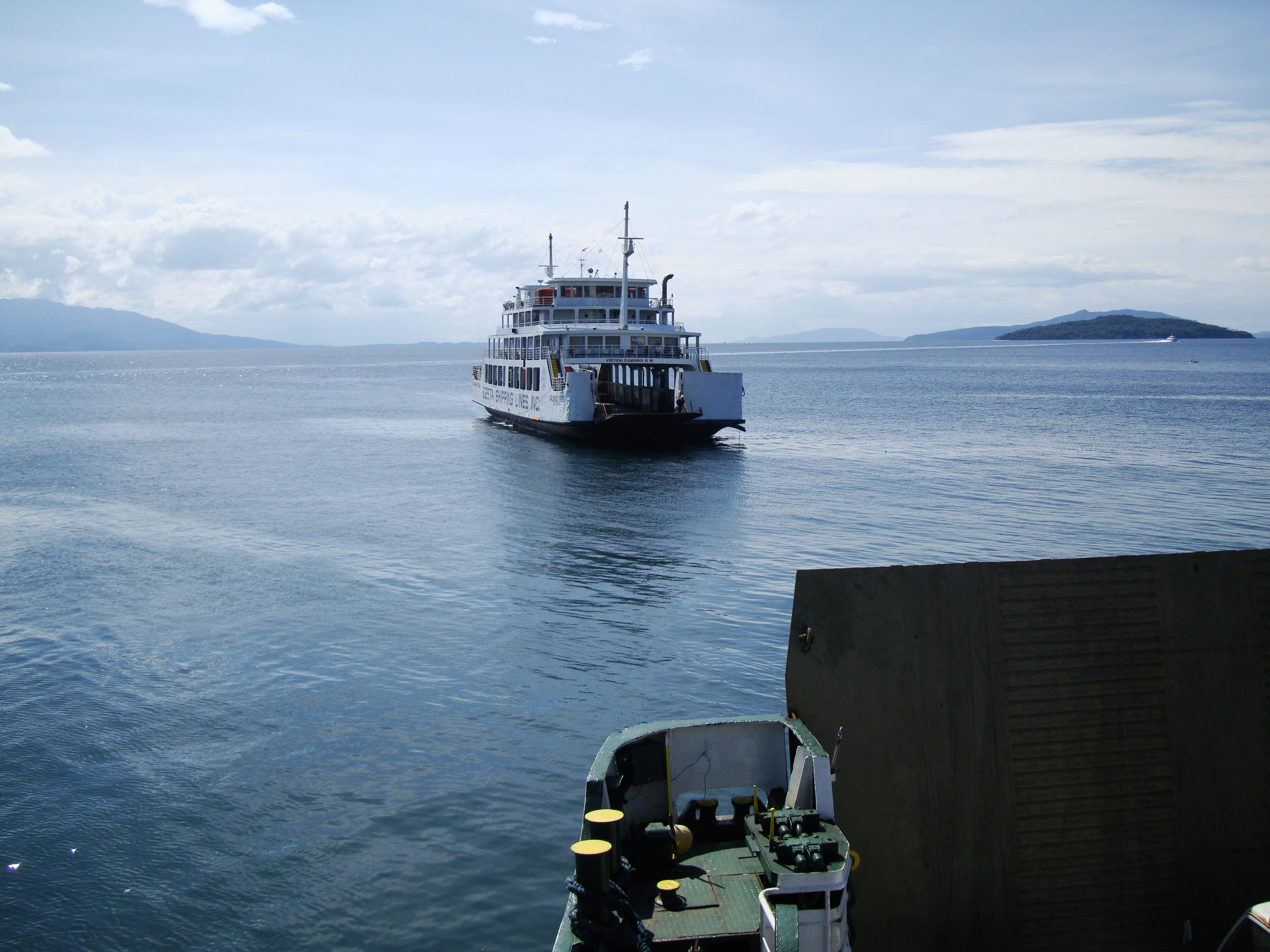 MV Baleno Tres car ferry Besa shipping lines Calapan Pier Philippines 01