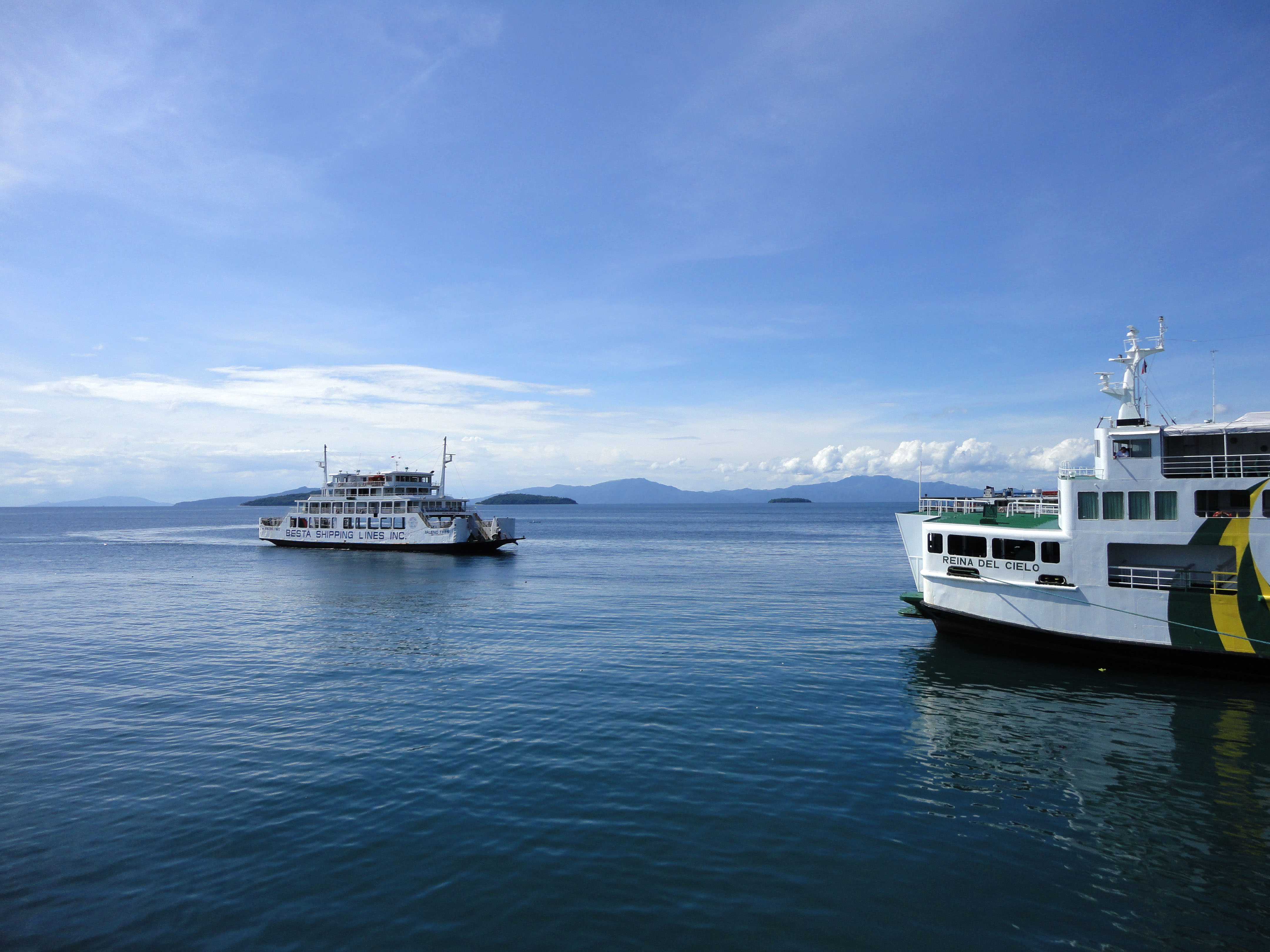MV Baleno Tres car ferry Besa shipping lines Calapan Pier Philippines 04